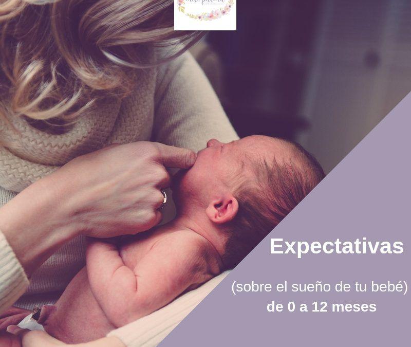 Expectativas ( reales) sobre el sueño de tu bebé de 0 a 12 meses – PARTE I