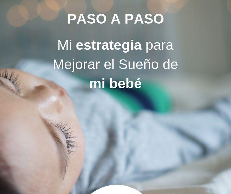 Mi estrategia ( paso a paso) para Mejorar el Sueño de MI bebé
